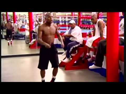 Floyd Money Mayweather training