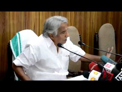 Oommen Chandy Press meet after meeting with Sushma Swaraj on Iraq crisis