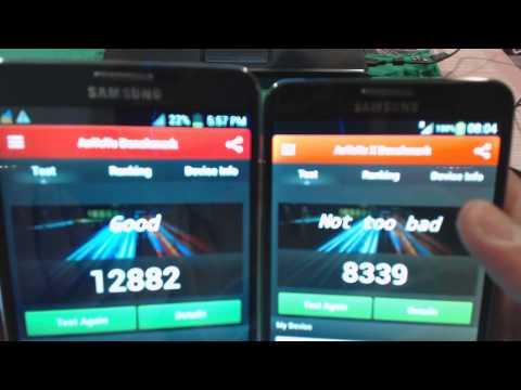 Galaxy Note 3 Clone : SM-N900 vs GT-N900 (N9006) : Comparison. Review. System Performance Part 2