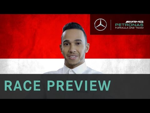 Lewis Hamilton 2015 Monaco Grand Prix Race Preview, with Allianz