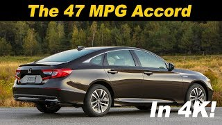 2018 / 2019 Honda Accord Hybrid - The Family Fuel Sipper