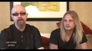 HALFORD talks  about track with FIVE FINGER DEATH PUNCH
