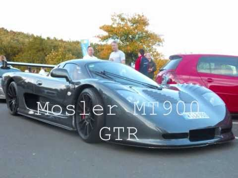 Mosler MT900 GTR racing at the nurburgring