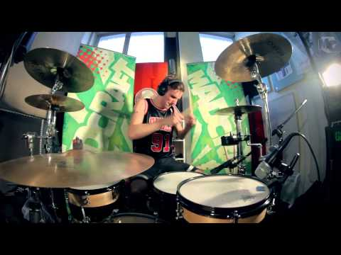 Drum Cover &quot;Blink-182 - Ghost On The Dancefloor&quot; by Otto from MadCraft