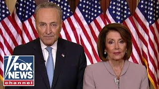 Pelosi, Schumer respond to Trump Oval Office address