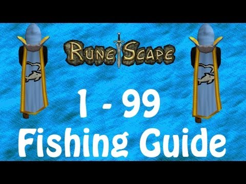 [RS] Runescape Ultimate 1-99 Fishing Guide | Over 120k EXP p/Hr | Commentary