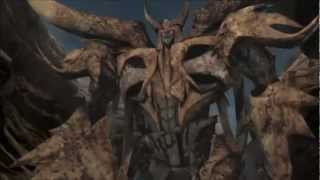 Skillet Monster Transformers Prime Unicron and Megatron VS Optimus Prime