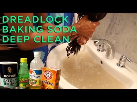 Dreadlocks Baking Soda Deep Clean Tutorial/Review