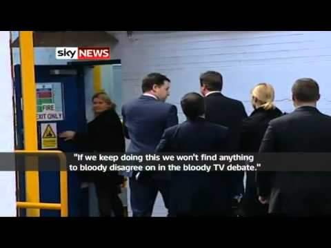 Nick Clegg Caught Out By Microphone