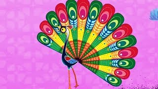 Tinga Tinga Tales Official Full Episodes   Why Peacock Struts   Cartoon For Children