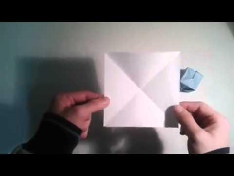 Origami para principiantes  7# Como hacer la base de bomba de agua   [Origami -