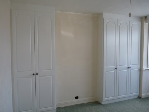 Fitted Alcove Wardrobes | Regal Style | White Ash Woodgrain