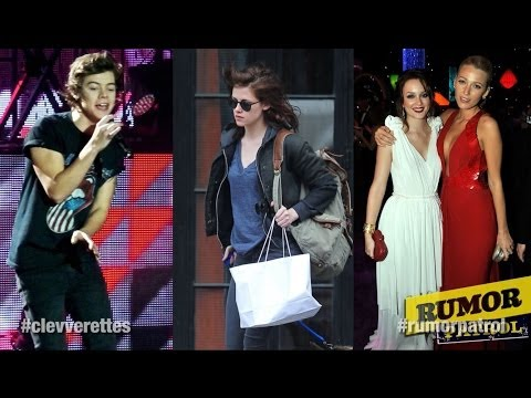 Harry Styles Going Solo? Blake Lively and Leighton Meester Feud? Kristen Stewart Hates Hollywood?