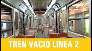 Metro De Santiago   Inyección Tren Vacio L2 NS-74 P3039