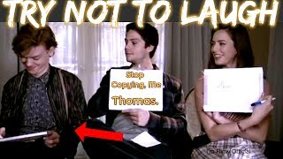 Maze Runner: The Death Cure Cast Play Funny Games(Part-2) - Dylan O'Brien Funny 2018