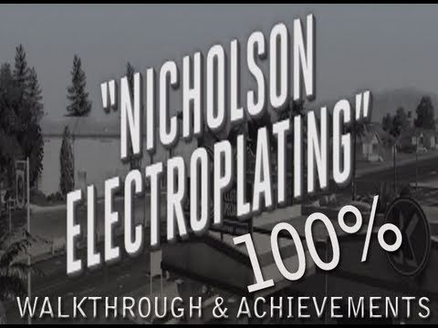LA Noire: Nicholson Electroplating Walkthrough Complete 100%