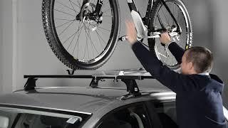 Видео: Велокрепление на крышу автомобиля из стали Cruz Bike-Rack G