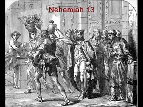 Nehemiah Commentaries Sermons Precept Austin