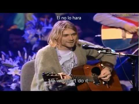 Nirvana - Nirvana - Where did you sleep last night - Unplugged in new york HD !