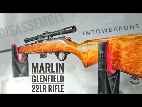 Marlin Glenfield Model 25 Bolt Action Rifle: Shooting - Overview - Disassembly