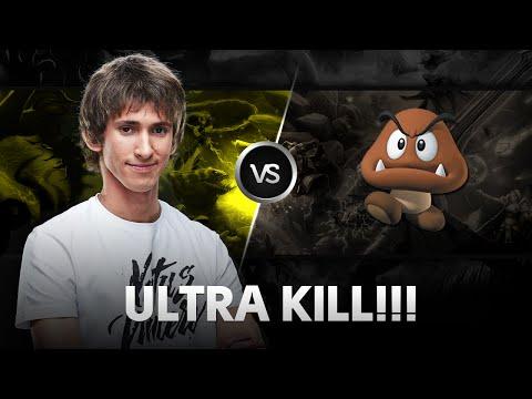 Ultra Kill by Dendi! vs Goomba @ SLTV XII