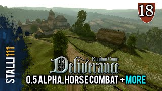 ►Kingdom Come: Deliverance | Alpha 0.5, Horse Combat, Polearms, Total Game Time and more! (EGX News)