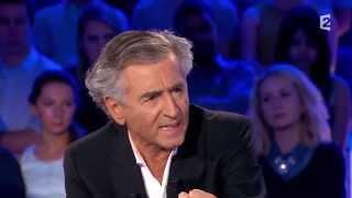 Bernard Henri-Lévy s'exprime au sujet de Marine Le Pen - On n'est pas couché 6 septembre 2014 #ONPC
