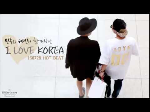 150728 Radio 'HOT BEAT' 하민우 I LOVE KOREA