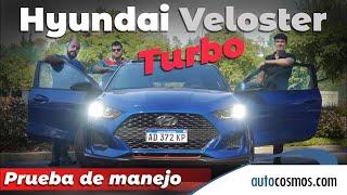 Test Hyundai Veloster 1.6T: Ahora va rápido | Autocosmos