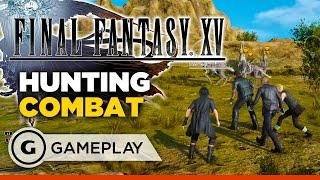 Final Fantasy XV - Varmints of the Wastelands Gameplay