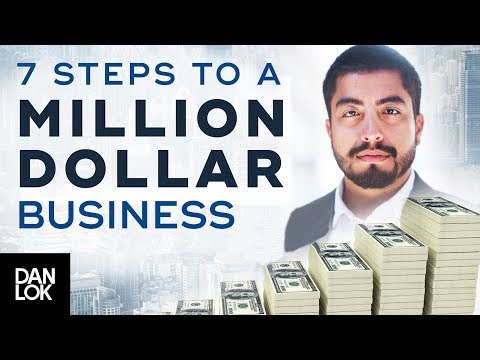 7 Steps To Building A Million-Dollar Business