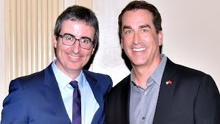 John Oliver honors Rob Riggle & more - Salute to Service 2017