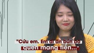 Em gái Hari Won đi ăn bún bò quên mang tiền, gọi điện thoại cho bạn cầu cứu
