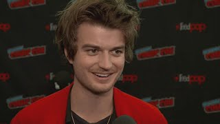 Joe Keery REACTS to Outrage Over Haircut and Talks 'Stranger Things' 4! (Exclusive)