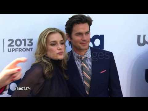 Matt Bomer and Piper Perabo - USA Network 2013 Upfront
