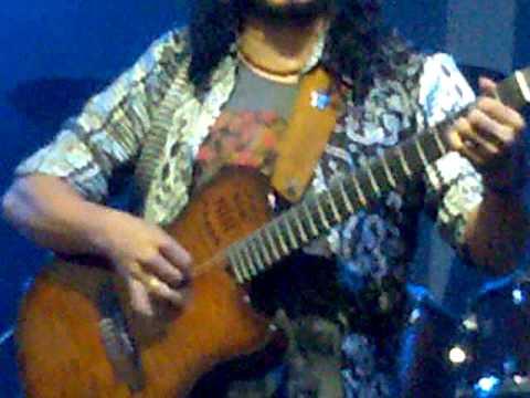 Raimundo Amador y lin cortes en el getxo blues festival