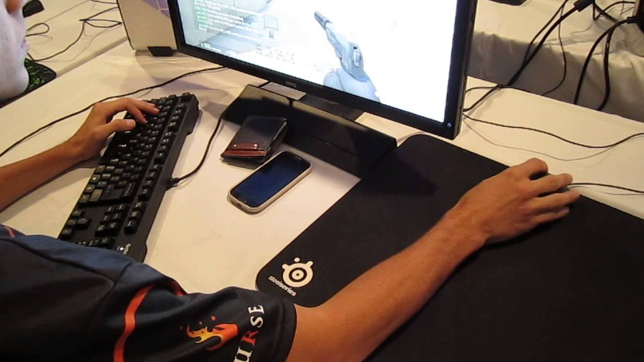Cs go pro setups curse adren over shoulder view youtube