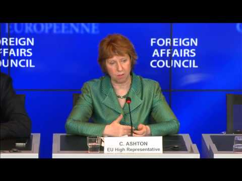 Catherine Ashton - FAC Press Conference - Part 2 Q&A