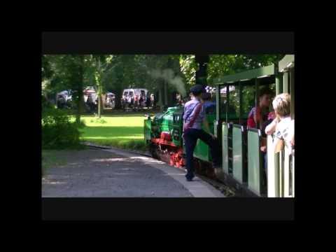 Parkeisenbahn Dresden im Großer Garten von Dresden
