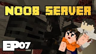 Spooky Wither Skeletons | Noob Server Multiplayer Minecraft with Pikanjo Episode 07
