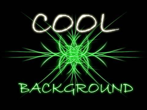 Make A Cool Background - Photoshop CS4 Advanced Tutorial HD Video