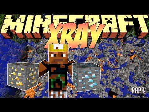 Minecraft Mods Showcase - X-Ray Mod! (1.8) - 1.7.10