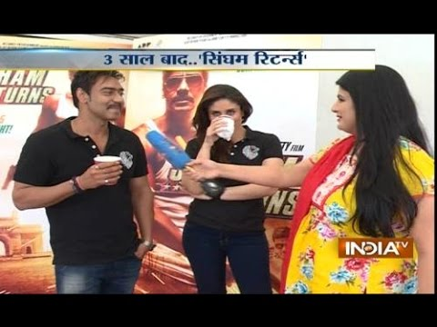 Exclusive: India Tv speakes with Ajay DevganKareena Kapoor on...