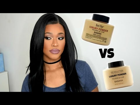 MAKEUP REVOLUTION BANANA POWDER vs BEN NYE BANANA POWDER!