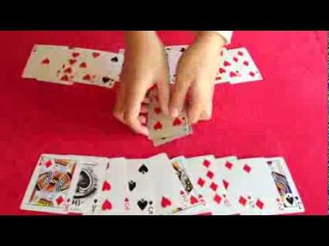 Horseshoe Card Trick Very