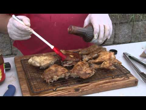 Kyvan Sweet BBQ Country Chef Mustard Chicken Leg Quarters