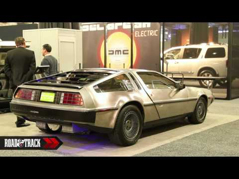 DeLorean Electric Prototype@ 2012 New York Auto Show