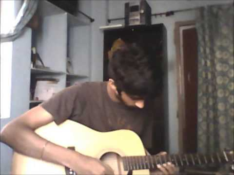 uppenantha guitar cover (Aarya - 2) by surya
