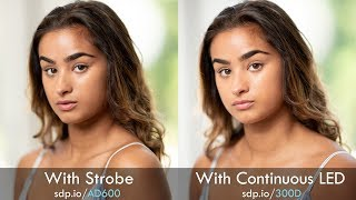 Flashes (Strobes) vs Continuous Lights for Photography