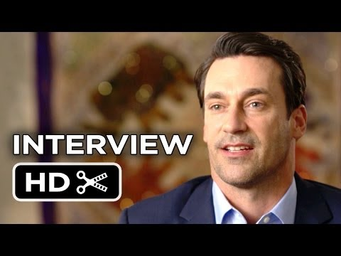 Million Dollar Arm Interview - Jon Hamm (2014) - Disney Baseball Drama HD